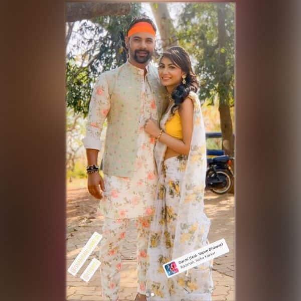 Sriti Jha संग Shabbir Ahluwalia ने दिए पोज
