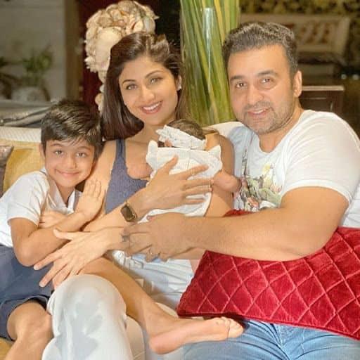 Raj Kundra and Shilpa Shetty Kundra's daughter Samisha Shetty Kundra