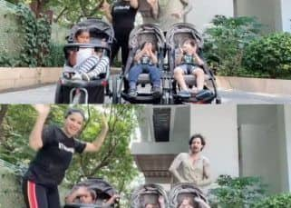 Coronavirus pandemic: Sunny Leone and Daniel Weber's fake outing for their kids is what we all need during lockdown — watch video