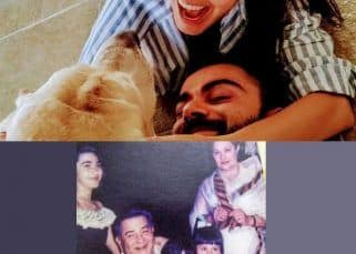 Kareena Kapoor's throwback pic with siblings and grandparents and Virat Kohli-Anushka Sharma's cute moment with their pet went viral this week