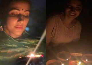#9pm9minutes: Arjun Bijlani, Mouni Roy, Hina Khan, Ankita Lokhande light candles in solidarity