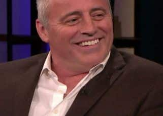 Friends star Matt LeBlanc aka Joey recollects a bizarre story while shooting for the sitcom