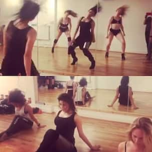 Urvashi Rautela's rehearsal video is sizzling HOT and you won't be able to peel your eyes away from her