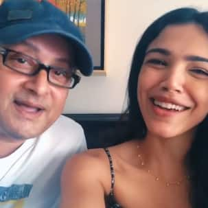 'It's our special song,' says Shriya Pilgaonkar as she sings THIS track with dad Sachin Pilgaonkar [Exclusive]