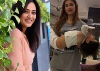 Shweta Tiwari's daughter Palak reveals how her mother does upper body workout by lifting her little brother — watch video