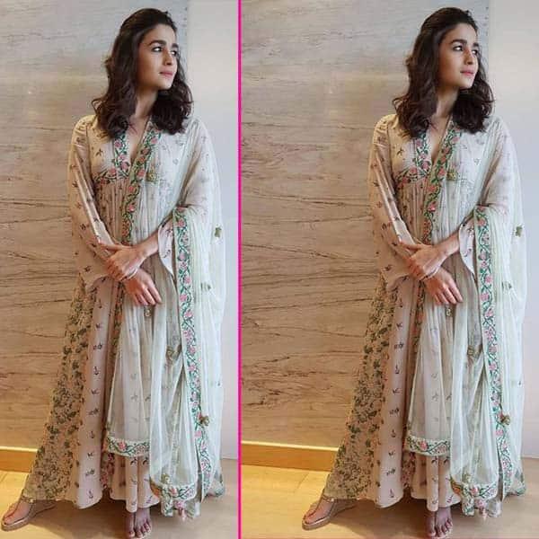 Alia Bhatt का अनारकली सूट
