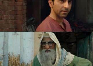 Gulabo Sitabo song Jootan Phenk: Amitabh Bachchan-Ayushmann Khurrana's camaraderie is the highlight of this quirky track