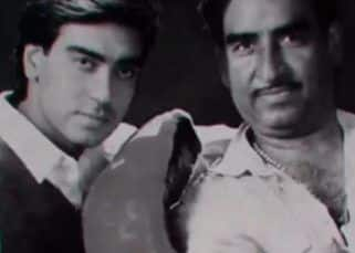 Ajay Devgn remembers dad Veeru Devgan on his first death anniversary; says, ' I can feel you beside me—quiet, caring, protective'