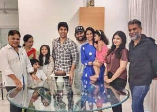 Allu Arjun wishes brother Sirish with this adorable childhood pic; family enjoys cake-cutting amidst lockdown