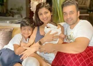 Shilpa Shetty's son Viaan Raj Kundra's first post after father comes home from jail is all about positivity and celebration