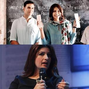 'Please mere pet pe laat mat maro,' Akshay Kumar tries to save himself from the wrath of Twinkle Khanna