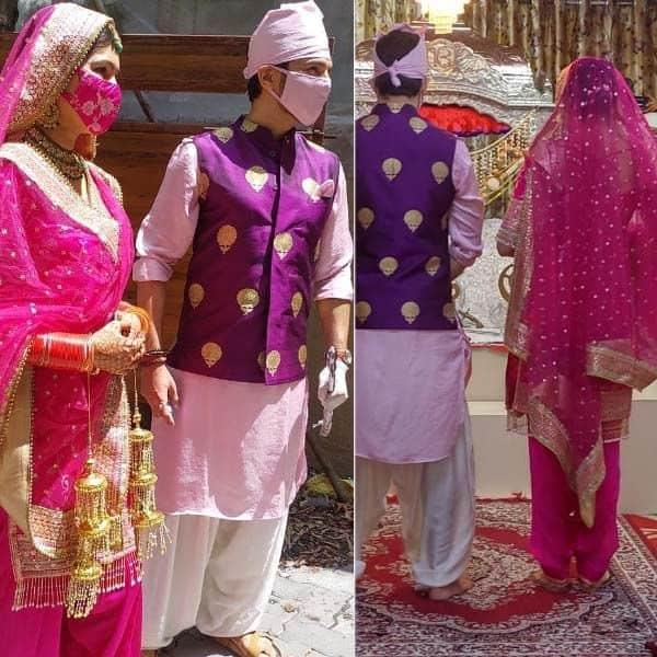 देखें मनीष रायसिंघानी और संगीता चौहान की शादी की तस्वीरें