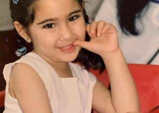 Sara Ali Khan is a mini replica of mother, Amrita Singh, in this #ThrowbackThursday post