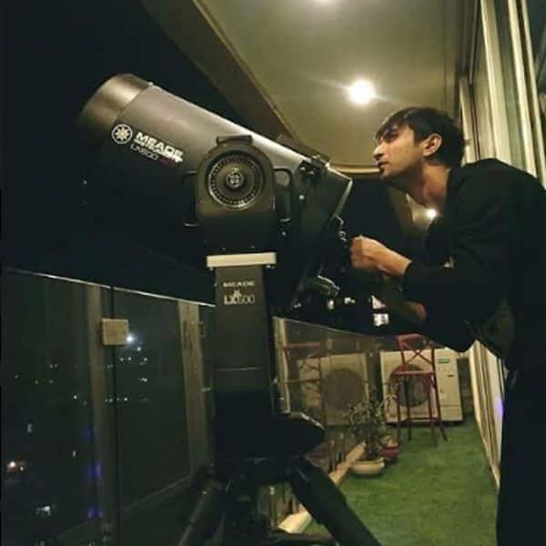 एडवांस टेलीस्कोप से देखते थे चांद पर अपनी जमीन