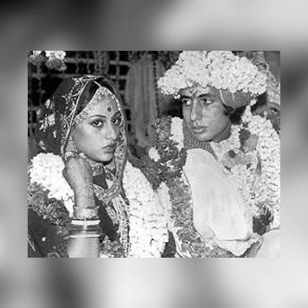 दुल्हन बनी अपनी पत्नी को निहारते रहे थे Amitabh Bachchan