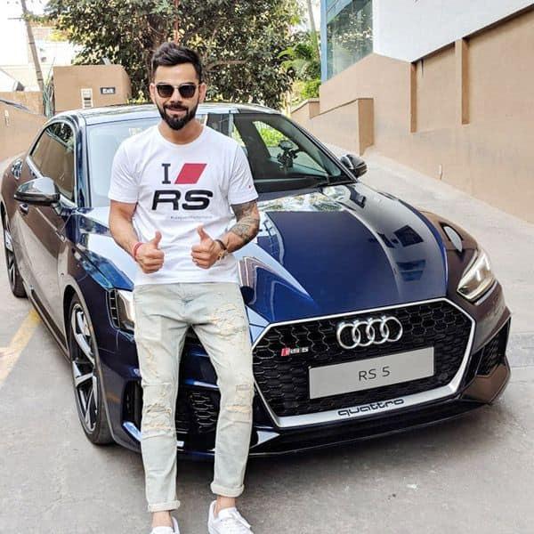 Audi आरएस5 के मालिक है अनुष्का के पति