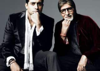 Abhishek Bachchan on being Amitabh Bachchan's son; says, 'He never wanted me to be anything but his son'