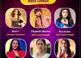 #BLBestof6: Alaya F, Hina Khan, Priyaank Sharma — vote for Best Debutant in the first half of 2020
