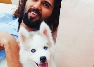 Vijay Deverakonda introduces a new family member with a cutest post