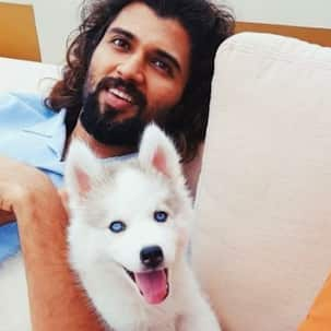 Rowdy Star Vijay Deverakonda playing with Liger producer Charmme Kaur's dog is the cutest thing on the internet today – watch video