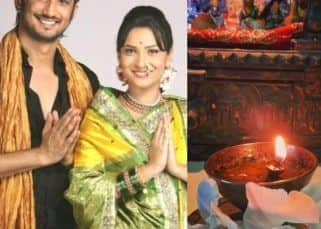 RIP Sushant Singh Rajput: Ankita Lokhande lights a diya on the 1-month death anniversary of her Pavitra Rishta costar