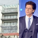 Shah Rukh Khan's bungalow, Mannat, has been sealed in plastic and Twitter can't digest it — view pic