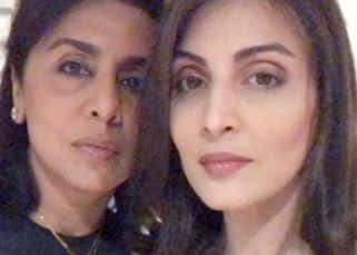 You can't miss these pictures from Neetu Singh and daughter Riddhima Kapoor Sahni's Thursday night dinner