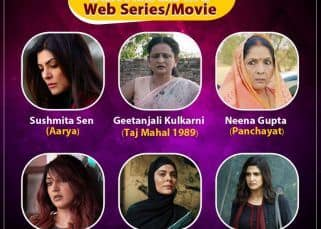 #BLBestOf6: Panchayat's Neena Gupta, Aarya's Sushmita Sen, Guilty's Kiara Advani — vote for the Best Actress in a Web Series/Web Movie in the first half of 2020