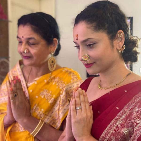 अंकिता लोखंडे और उनकी मां की भगवान में है आस्था