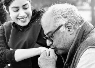 Janhvi Kapoor calls father Boney Kapoor her cutest and biggest cheerleader — view post