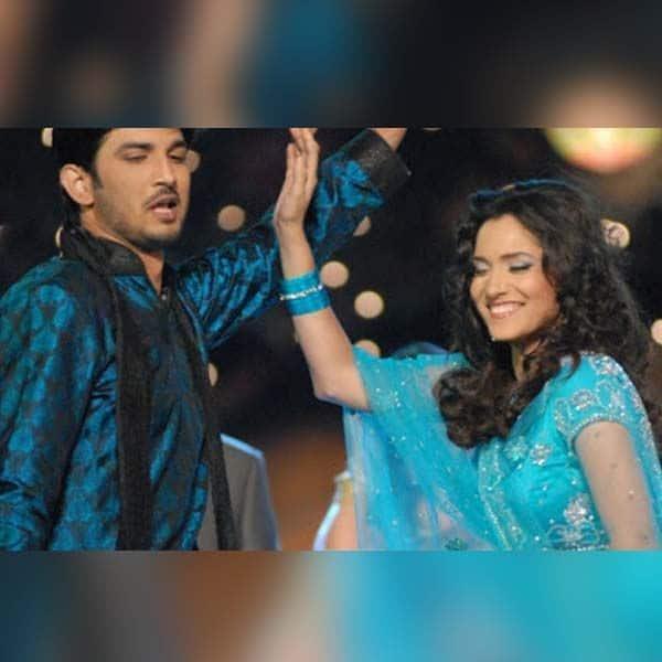 अंकिता लोखंडे और सुशांत सिंह राजपूत को था डांस करने का शौक