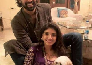 Rana Daggubati-Miheeka Bajaj's family picture with their pet pooch is all things cute