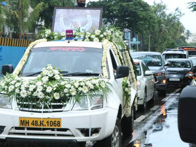 राजकीय सम्मान के साथ हुआ अंतिम संस्कार