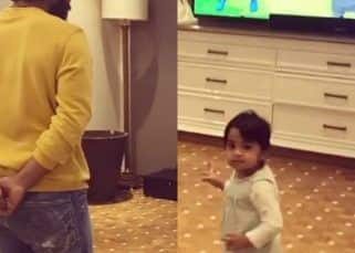Ram Charan shaking a leg with niece Navishka on Baby Shark song is the cutest thing on the internet today