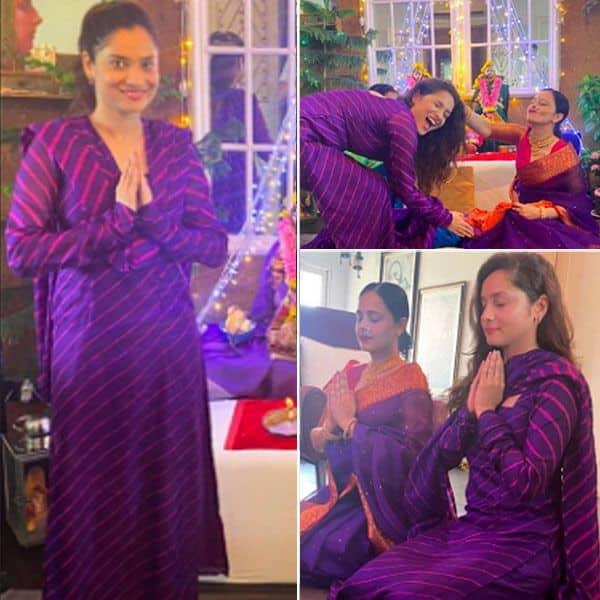 अंकिता लोखंडे और नताशा शर्मा ने की मस्ती