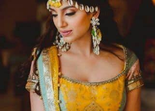 Rana Daggubati's fiancee, Miheeka Bajaj, looks gorgeous in yellow at her Haldi ceremony - view pics
