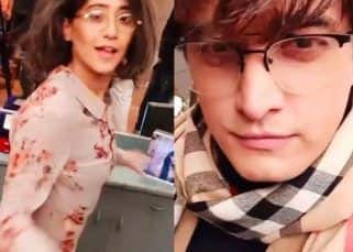 Yeh Rishta Kya Kehlata Hai's Shivangi Joshi and Mohsin Khan dancing to Kareena Kapoor Khan's Aunty Ji song is too cute — watch video