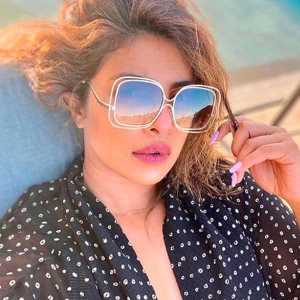 प्रियंका चोपड़ा को पसंद है धूप सेंकना
