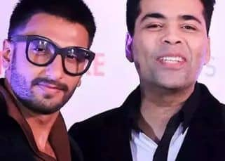 Karan Johar breaks his social media silence, leaves a comment on Ranveer Singh's Insta live