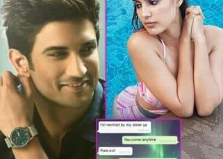 Rhea Chakraborty leaks WhatsApp chats with Sushant Singh Rajput after the alleged molestation incident involving sister Priyanka Singh