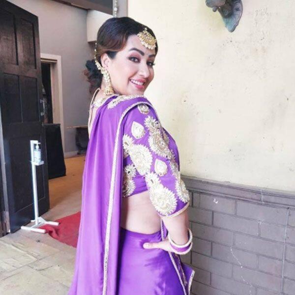 आंखों के वाण चलाती नजर आईं शिल्पा शिंदे