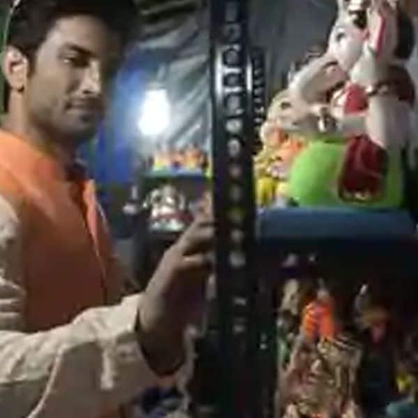खुद गणपति की मूर्ति लेने जाते थे सुशांत सिंह राजपूत