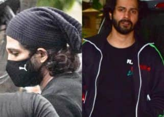 Spotted: Spotted: Allu Arjun and Varun Dhawan look like dudes even with masks on, Raashi Khanna aces the leggings game