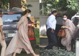 Deepika Padukone arrives at the NCB office for questioning — view pics