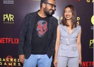 'I have always felt immensely secure in your presence,' says Radhika Apte as she speaks in support of Anurag Kashyap
