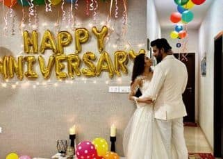 Charu Asopa and Rajeev Sen's first wedding anniversary celebrations truly prove that marital blues are a thing of the past