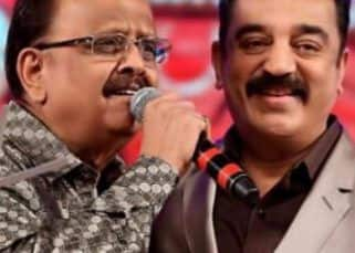 Kamal Haasan visits SP Balasubrahmanyam, says 'Life support machines are in use, can't say he's doing well'