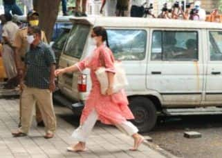 Sara Ali Khan arrives at NCB's Fort office for questioning; 'confident walk' wins over fans — view pics
