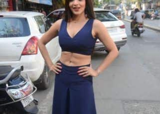 Monalisa looks breathtaking in her all-blue outfit for a store launch – view pics