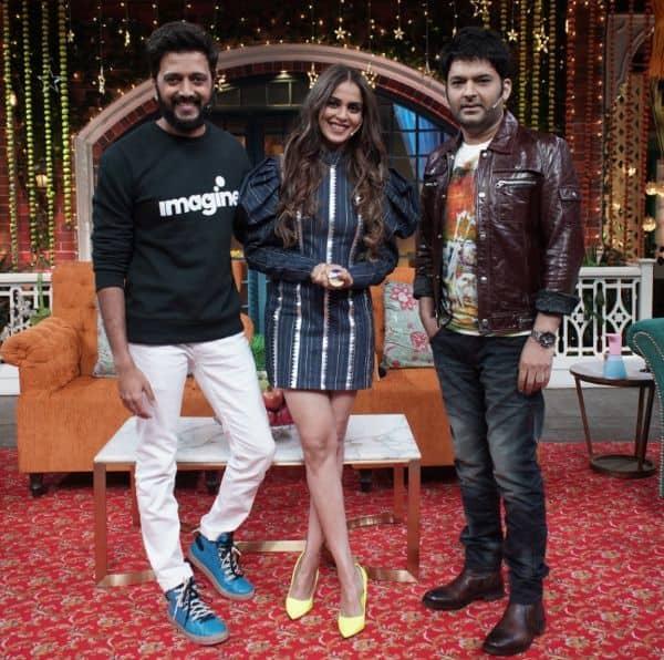 The Kapil Sharma Show: Riteish Deshmukh reveals how Genelia Deshmukh's fans showed him the mirror after his ego got hurt — watch video